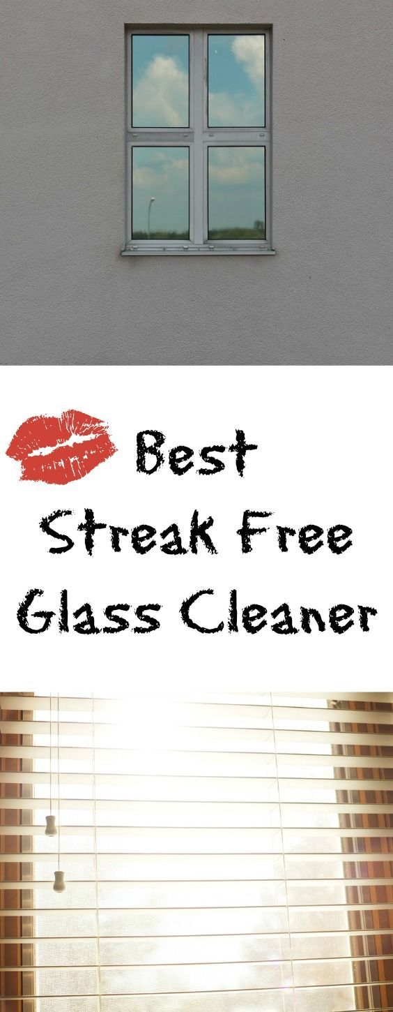 Best Streak Free Glass Cleaner