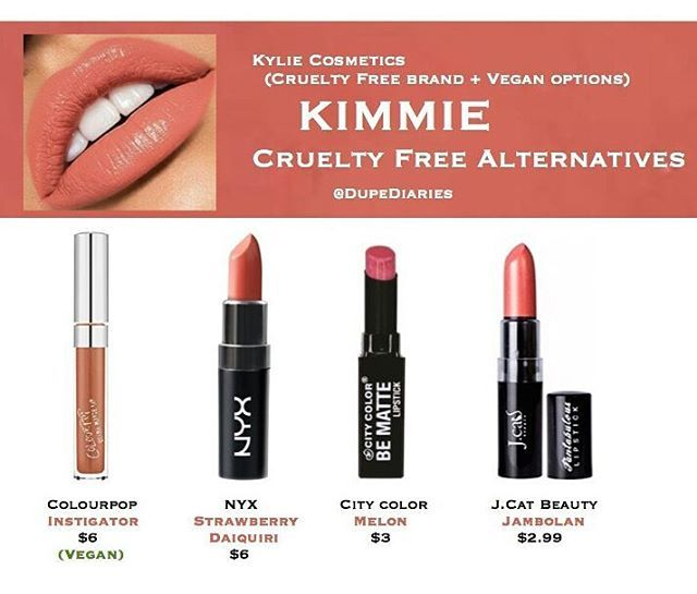 "WEBSTA @ dupediaries - What other dupes do you want to see? ----------------------------------------These are just a few alternatives I think would be close to the shade ""Kimmie"" Regardless they're all super gorgeous and really comfortable. (Each of the products, besides ""Instigator,"" transfer including ""Kimberly."" Colourpop's ""Instigator"" is an ultra matte I normally don't like, however oddly enough I find this shade more comfortable than other ultra mattes I've tried before)…"