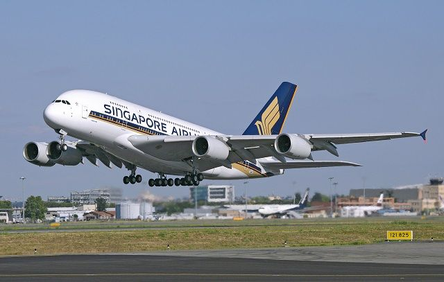 Singapore Airlines parks the first A380 to enter commercial service