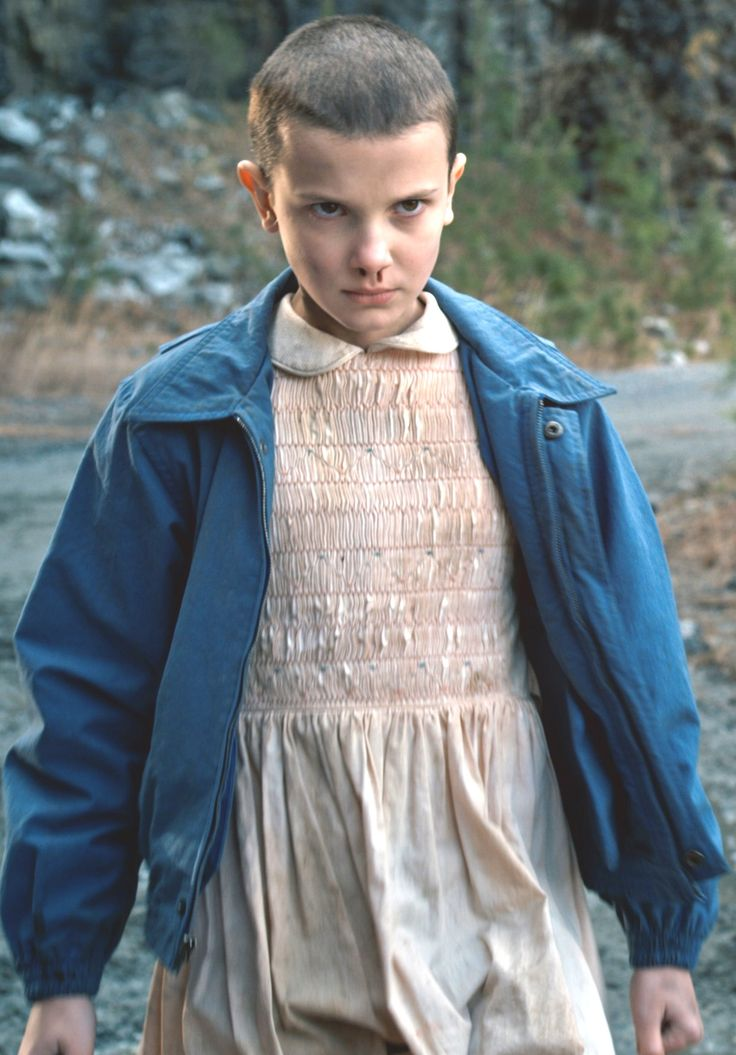 For Halloween - told myself everyone will probably do it but I may for it  Stranger Things - Eleven