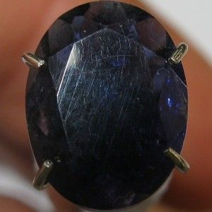 Dark Blue Oval Iolite 1.40 carat
