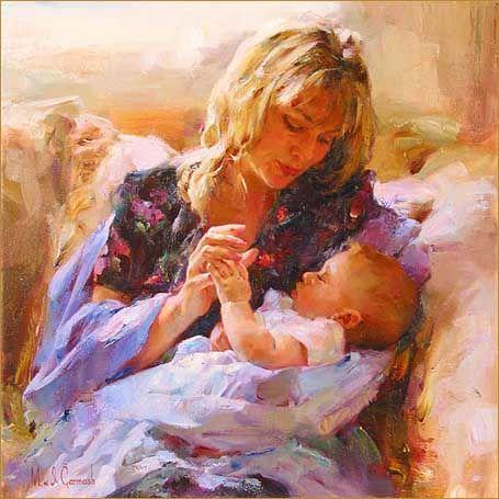 tender moment garmash art limited edition