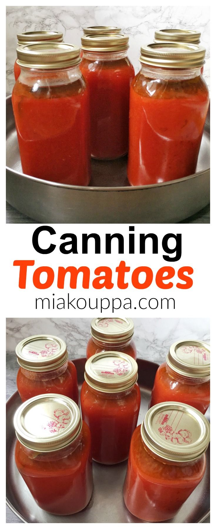 How to can Fresh tomatoes