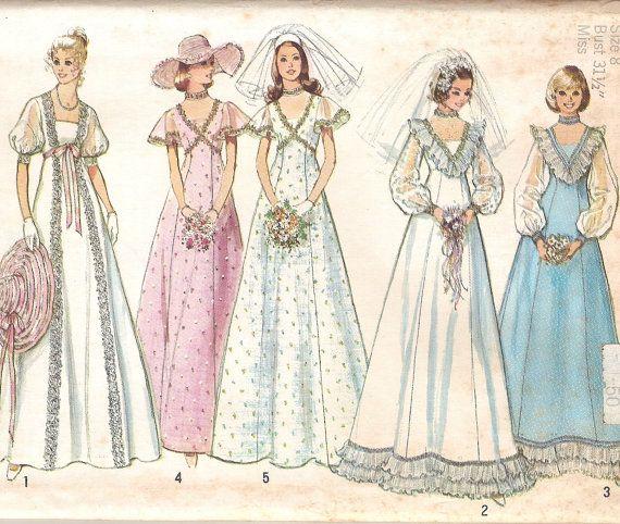 Wedding Gown Princess Cut: 275 Best Images About Vintage Dress Patterns On Pinterest