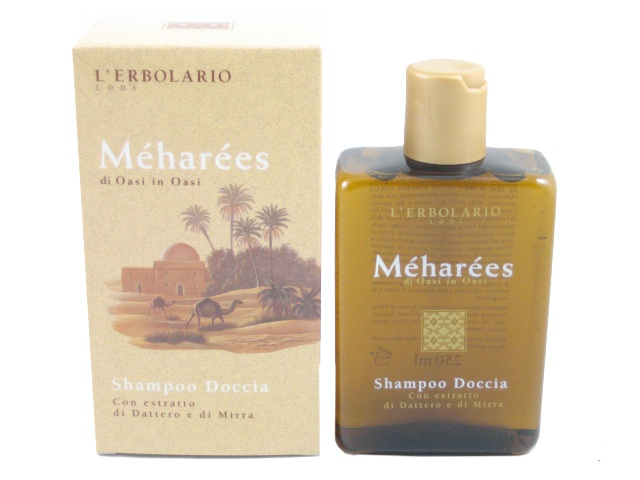 Meharees Shower Gel and Shampoo by L'Erbolario Lodi