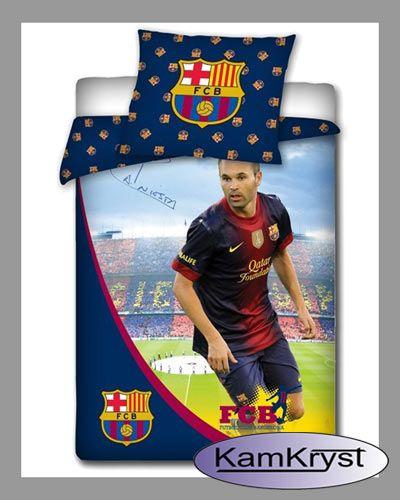 Bedding Iniesta of FC Barcelona | Pościel Iniesta FC Barcelona #fc_barcelona #iniesta_bedding #barcelona_bedding
