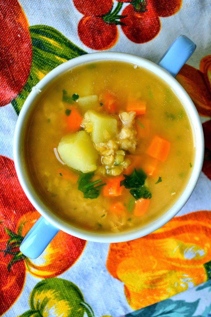 Pozytywne żywienie - dietetyka od przyjemnej strony: Zupa z soczewicy - najprostsza, najszybsza, dietetyczna, wege