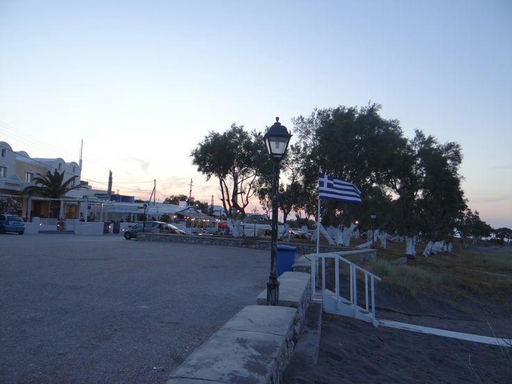 Santorni  monolithos greece