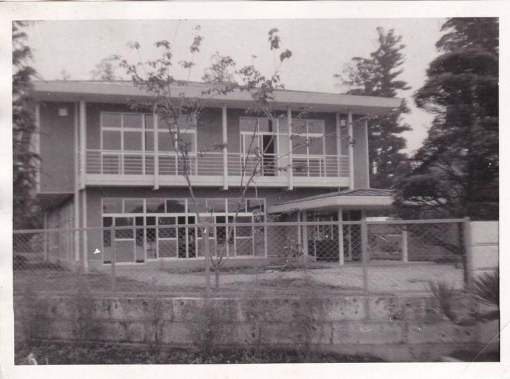 古い写真 大宮たばこ耕作組合建物 新築完成 茨城県 - ヤフオク!