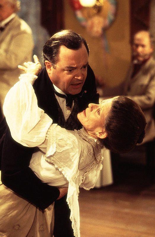 Ian D. Clark as Simon Tremayne w/ The late Jackie Burroughs as Hetty King