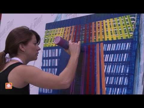 Take a close look at how Amy Shackleton creates her paintings using a paint drip technique! Doug Parsons, Beauti-Tone's Paint Expert, talks about Amy Shackleton using colours from Beauti-Tone's new Colour Comes Home Collection for her paintings. #BeautiToneIDS #IDS14