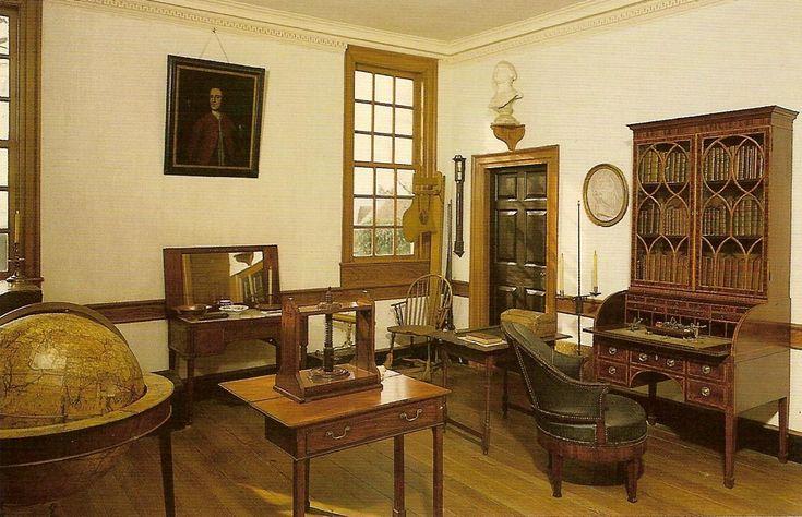 George Washington S Mount Vernon Study Washington S Study