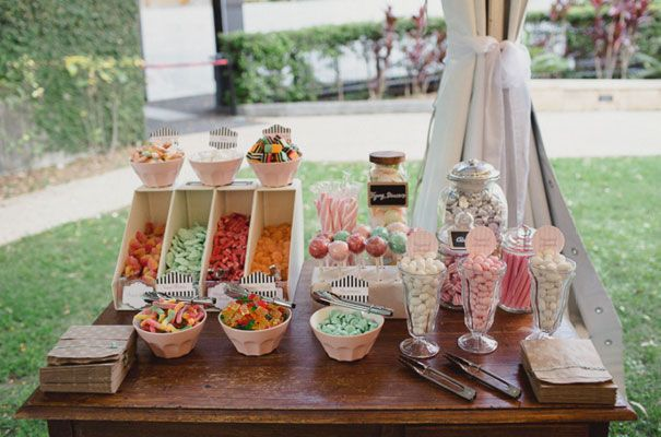 My sister is chief Lollie Bar Lady, and she has been appointed the job of making it fabulous. Needless to say, cut crystal dishes, fresh flowers and tiny gold animals will all be included. A UNIVERSITY OF QUEENSLAND WEDDING: BREONY   RYAN