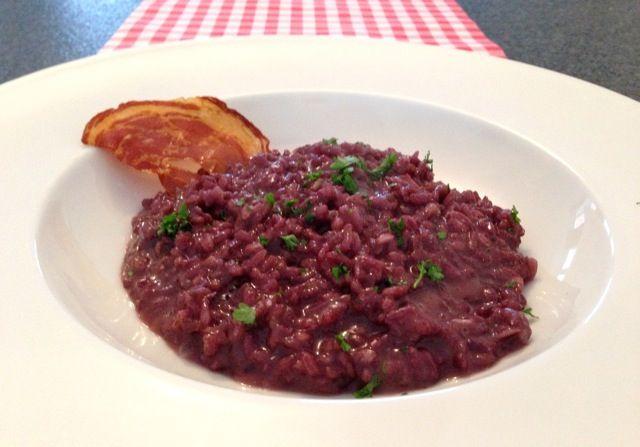 Risotto met rode wijn - risotto recepten — Alles Over Italiaans Eten