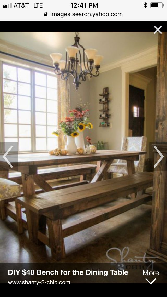 Pin By Meximom81 On Dining Room Nooks And Al Fresco Eating Diy Dining Table Diy Farmhouse Table Farmhouse Table Plans