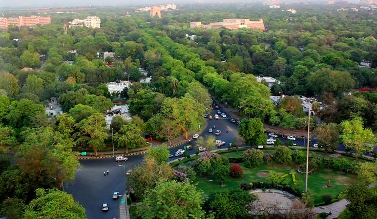 Green Delhi... View of central Delhi