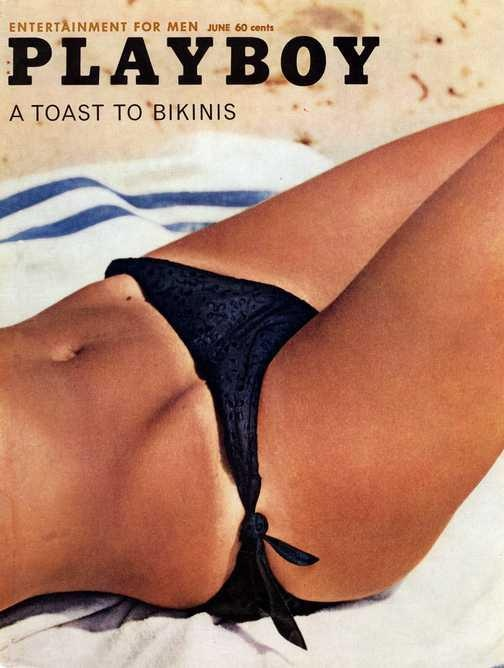 Summer - Vintage Playboy - A toast to bikinis
