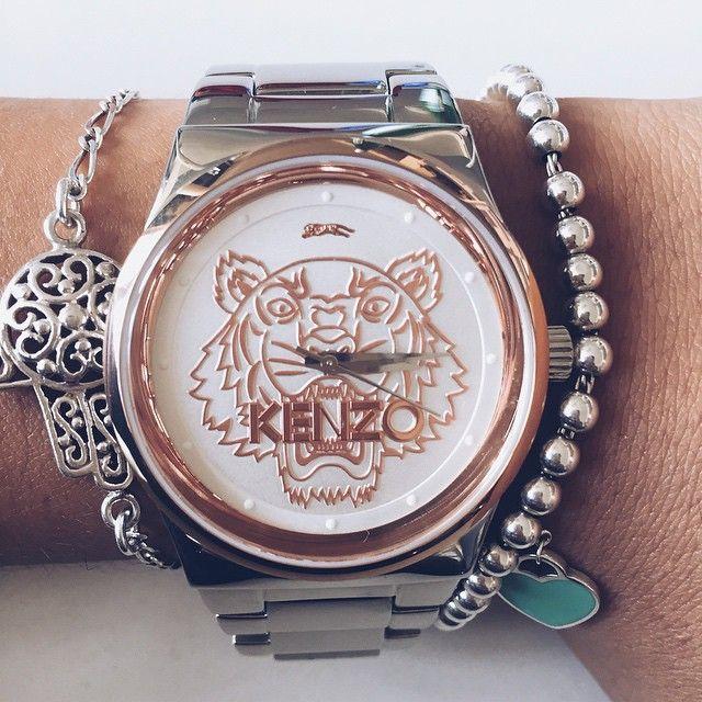 Delikatna biżuteria i zegarek Kenzo to świetne połączenie!