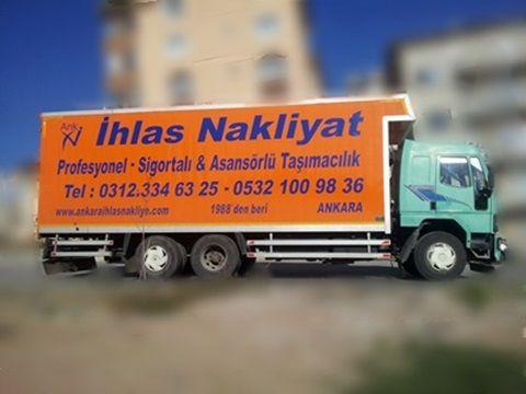 Ankara nakliyat - İletişim