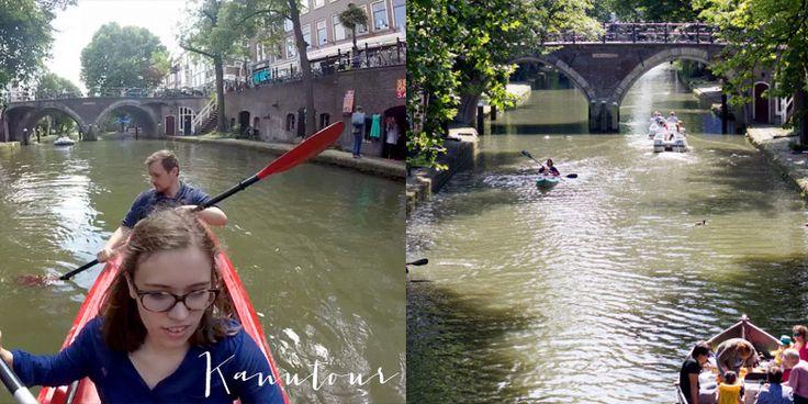 Travelguide für Utrecht: Kanutour