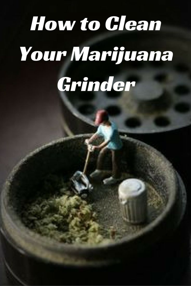 How to Clean Your Marijuana Grinder