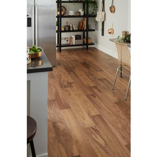 Light Brown Walnut Wire Brushed Water Resistant Engineered Hardwood In 2020 Engineered Hardwood Types Of Wood Flooring Flooring