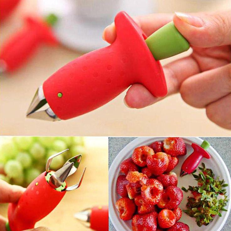 Strawberry Leaf Removing Gadget