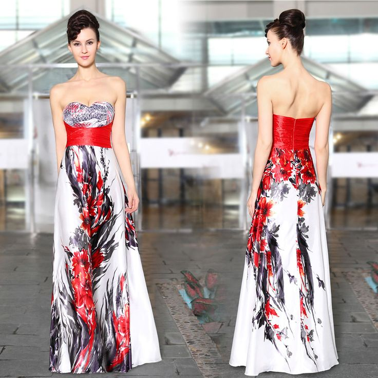 Sexy Women's Strapless Halloween Formal Evening Party Dress Prom Gown 09971 in Clothes, Shoes & Accessories, Women's Clothing, Dresses | eBay