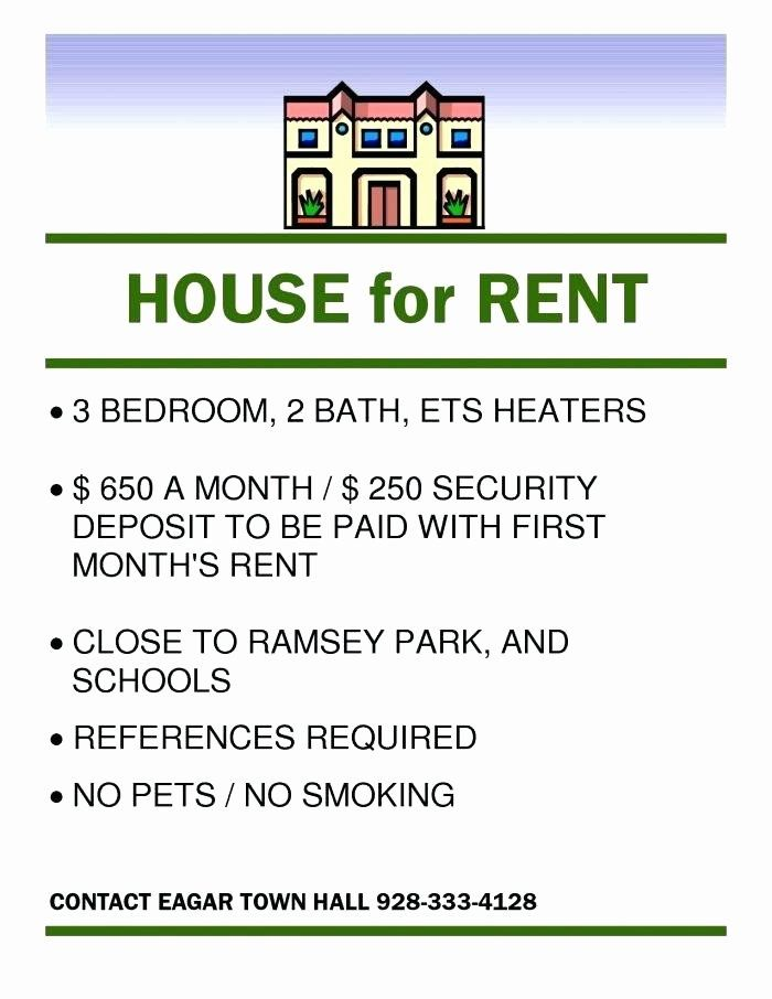 For Rent Flyer Template Free Awesome Rental Advertisement Template House Rental Flyer Template Flyer Template House For Rent Flyer Flyer Template Free