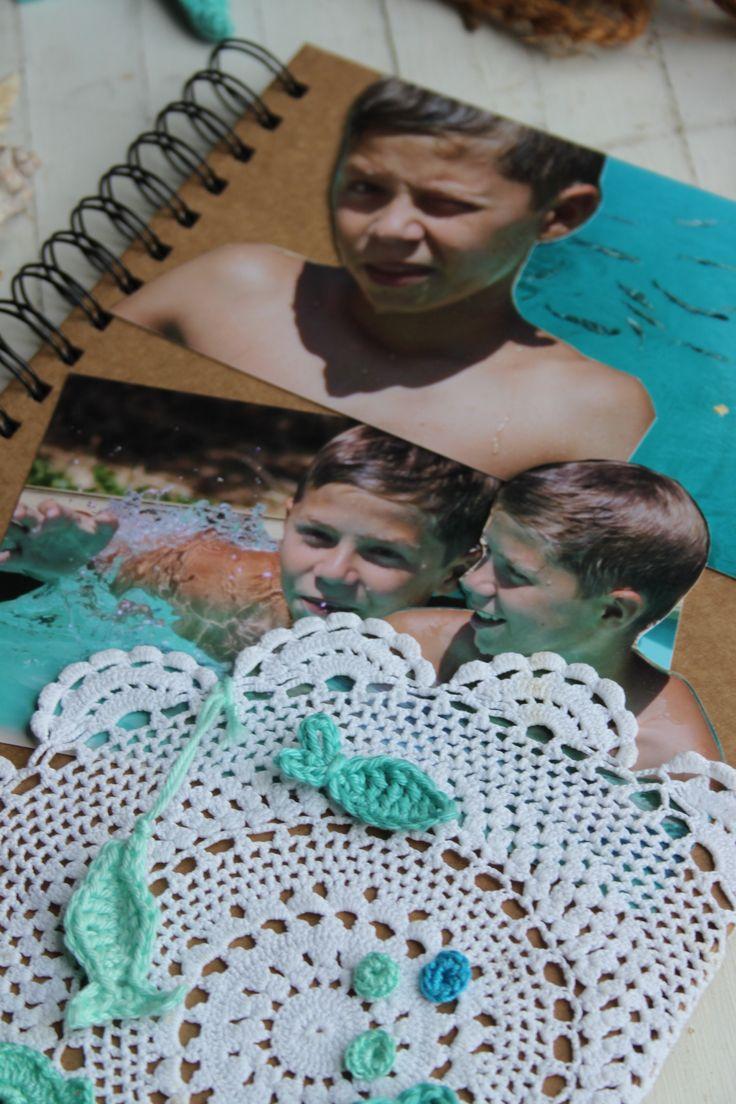 Vakantie herinneringen ~ Fotoalbum uit het magazine Inhaken op vakantie