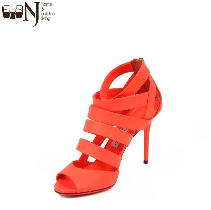 #JimmyChoo ladies #sandals 141DAME #Neon Nappa Flame! #deal #heels #fashion #offer