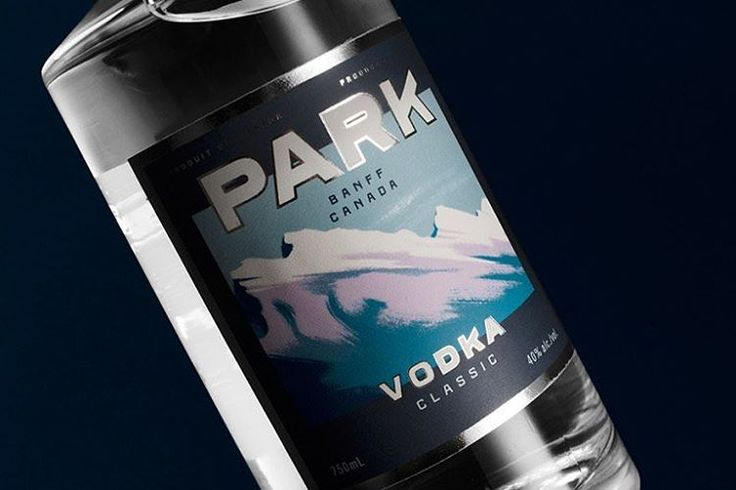 We featured Park Vodka Packaging by @glasfurdwalker on our site today. Check it out at calligritype.com
