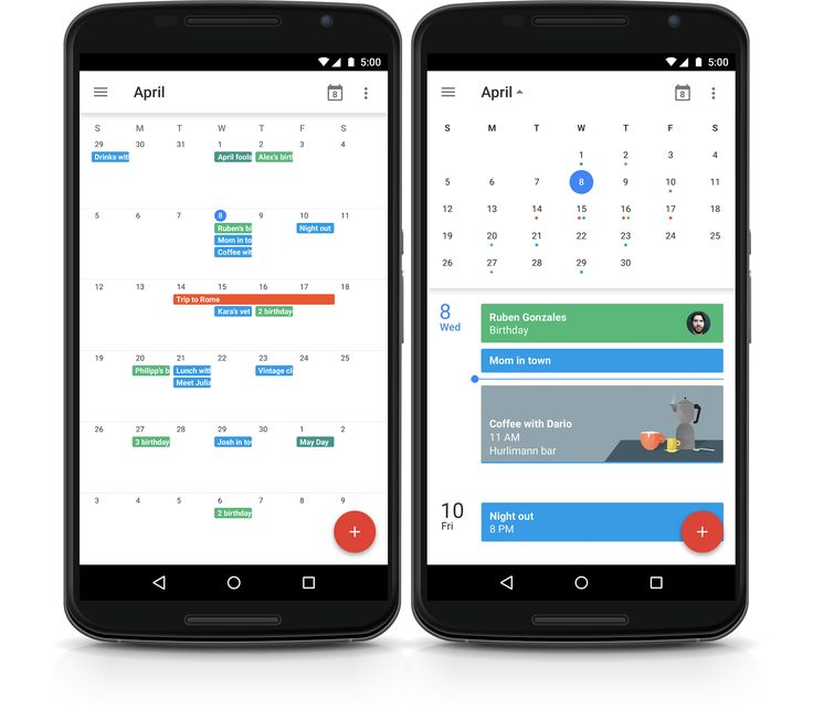 Google Apps update alerts: Month view added to Google Calendar app for Android