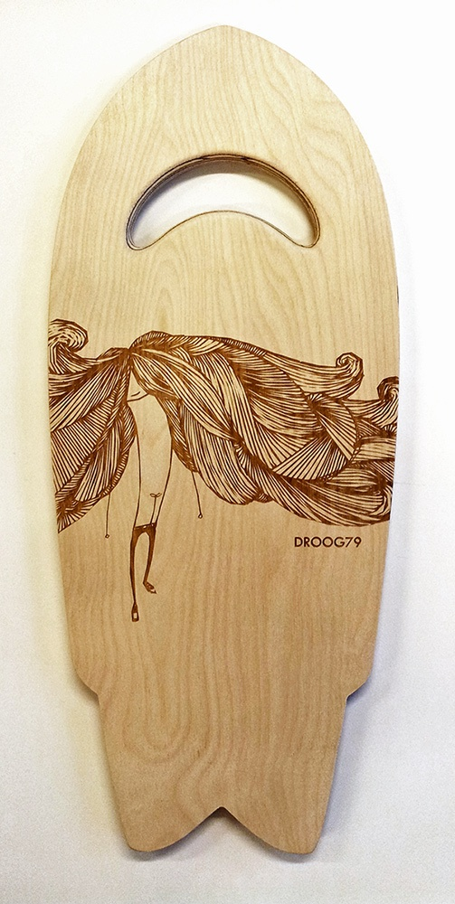 BIG HAIR DAY on Swallow-tail handplane,   D79 X Thirdshade Collaboration.....AVAILABLE SOON!  http://www.facebook.com/droog79  http://www.facebook.com/thirdshade?group_id=0