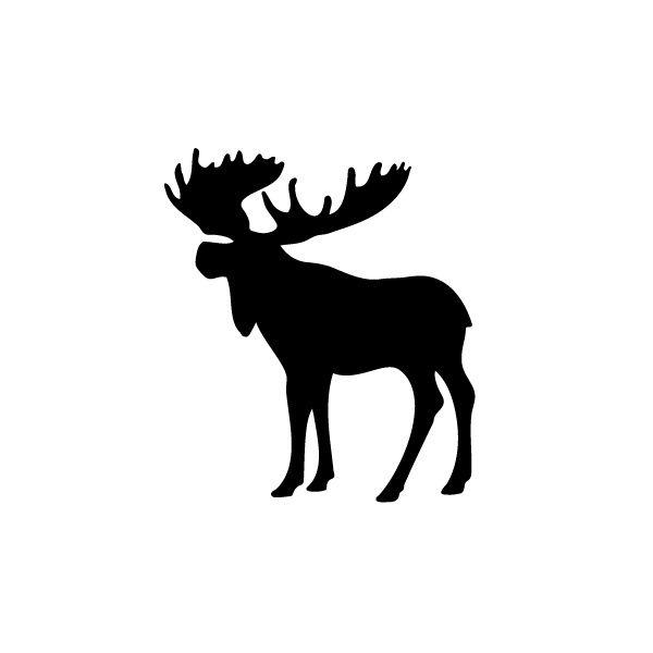 Moose Silhouette Clip Art - ClipArt Best - ClipArt Best