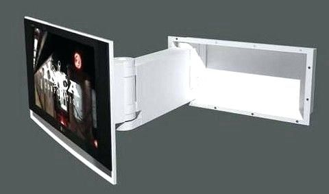Hanging A Flatscreen Tv Remote Controlled Wall Mount System For Your Flat Screen Mounting Hiding Wires Installing On Drywall