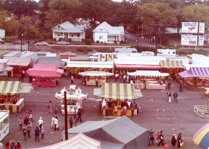State Fair at the State Fair Grounds early 1970's.