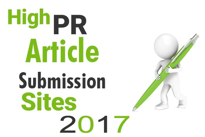Free 100+ High PR Dofollow Article Submission Sites 2017. Best Free Dofollow Article Submission Sites Improve The Page Rank and Increase The Organic Traffic