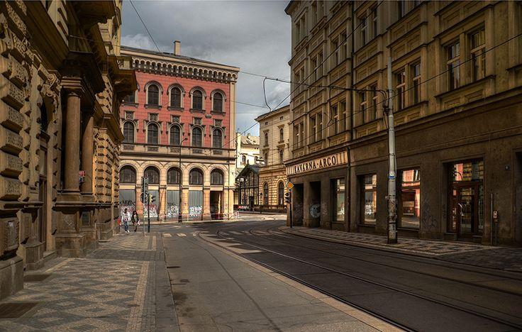 Dlážděná ulice
