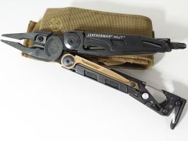 LEATHERMAN Military Utility Tool (MUT). Definitely want one of these! Top Survival Blog