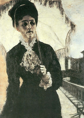 Giovanni SEGANTINI, Signora Torelli's Portrait  #TuscanyAgriturismoGiratola