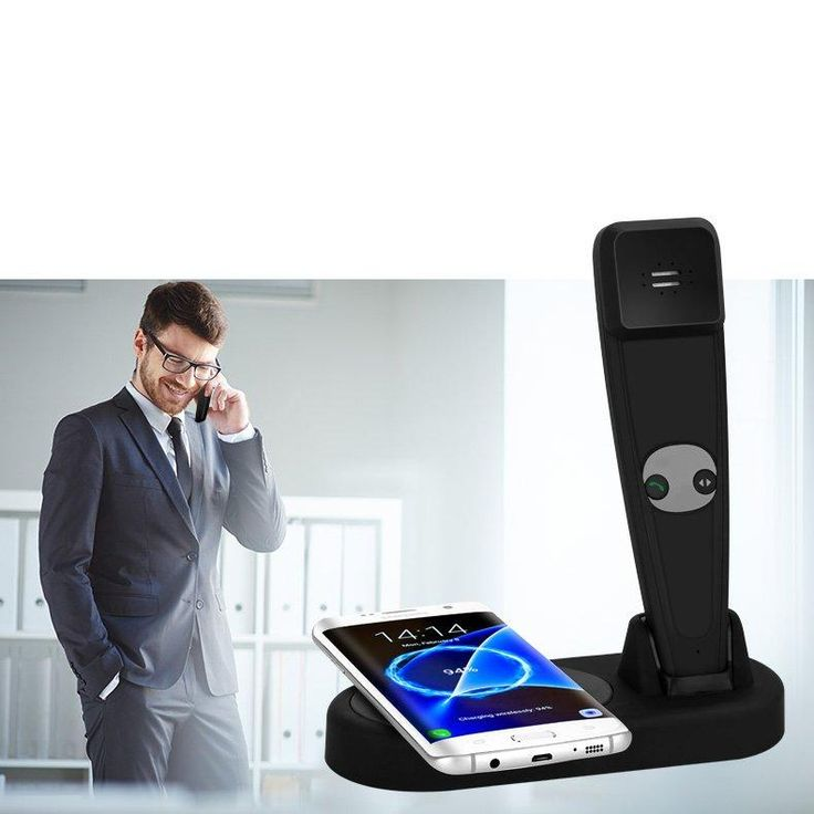 Bakeey Qi Wireless Charger Pad+Bluetooth Headset For iPhone X/iPhone 8/8 Plus/Samsung Galaxy Note 8/S8/S8 Plus Sale - Banggood.com