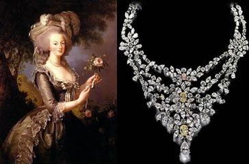 Marie Antoinette's necklace.  3.7 million.