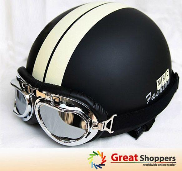Vintage Motorcycle Helmet......If I have to wear a skull cap
