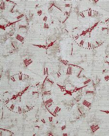 Viewing Clocks by Bill Beaumont Textiles