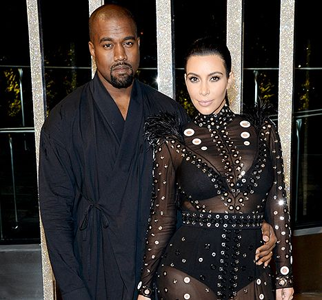 Kim Kardashian and Kanye West Only HadMale Embryos Implanted - Us Weekly