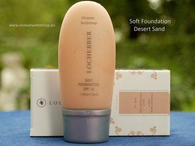Locherber Soft Make-Up Desert Sand ist ein mildes und deckendes Fluidum, für einen gleichmäßigen und natürlich wirkenden Teint. Soft Make-UP Deserts ist nicht ölig, kaschiert Unebenheiten und lä