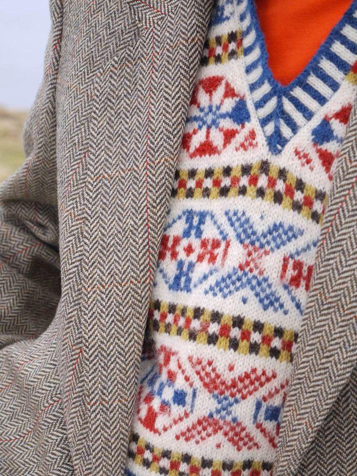 Free Printable Baby Knitting Patterns : Hugos-jumper Made in Fair Isle Knit Love Pinterest Fair isles, Jum...