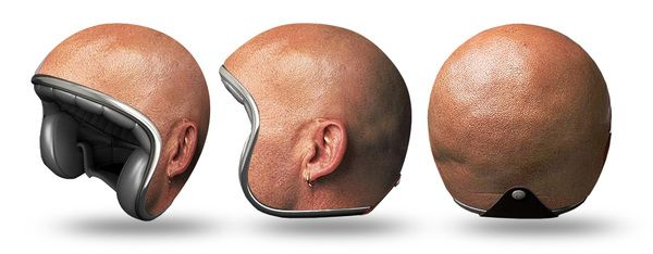 Helmet Experiments by Igor Mitin. Would U protect Ur Noggin with these?