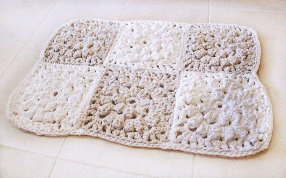 Alfombra de baño estera de baño moderna alfombra por Hottknots